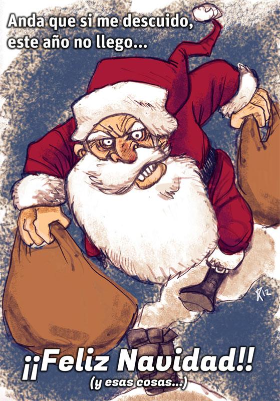 Feliz Navidad y próspero Año del Fin del Mundo