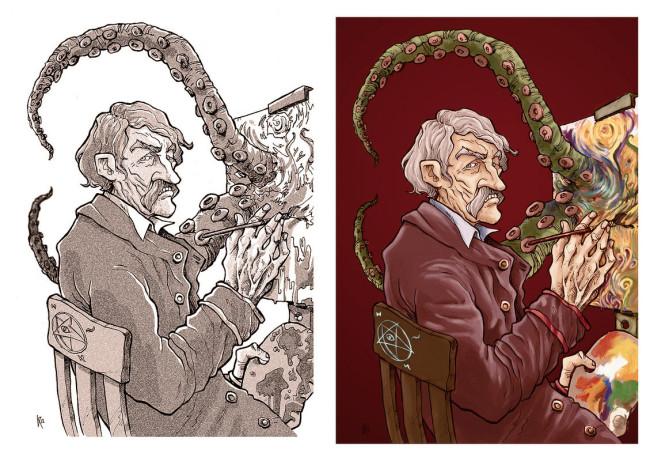 Dibujillo Lovecraftiano